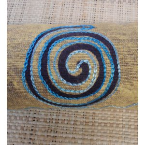 Fourre tout spirale bleue