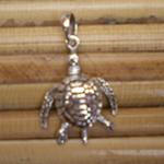 Pendentif petite tortue