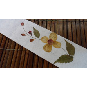 Marque page fleurs 4