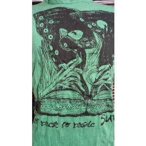 Tee shirt M vert shoes