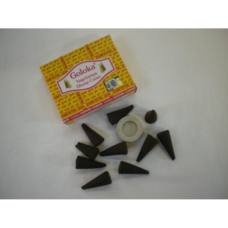 Cones d'encens Goloka nagchampa