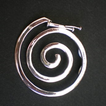 Pendentif grande spirale