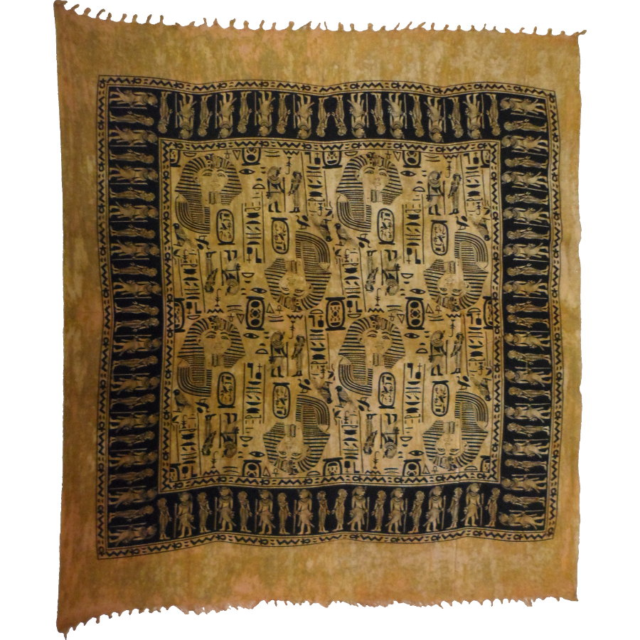 Tenture maxi pharaon Toutânkhamon