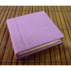 Mini carnet rose fuschia