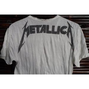 Tee shirt blanc Métallica