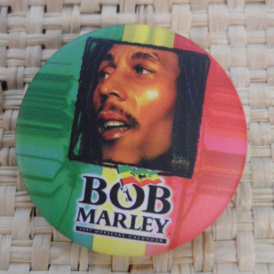 Badge 3  Bob Marley