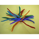 Chouchou laine bouillie rainbow