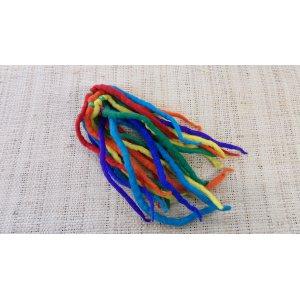 Chouchou big laine bouillie rainbow
