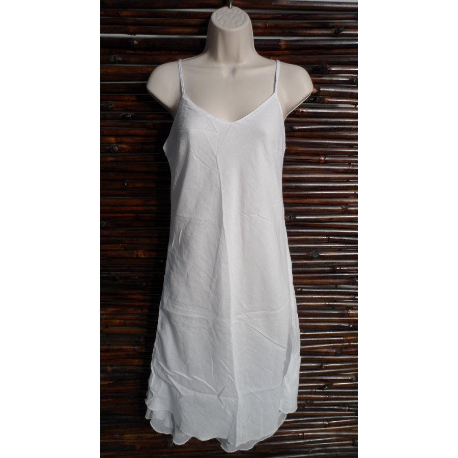 Robe longue d'été blanche