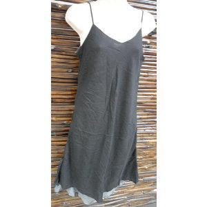 Robe longue d'été noire