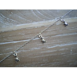 Bracelets De Cheville Joaillerie Bracelets De Cheville En Argent Avec Spirales Et 1 Sonnette