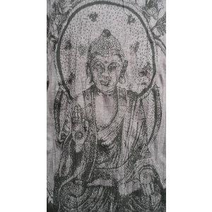 Tee shirt M marron Bouddha