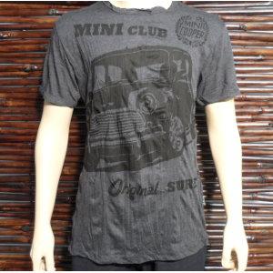 Tee shirt M gris foncé mini club mini cooper