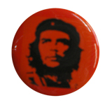 Badge Che Guevara red