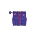 Porte monnaie Mustang violet