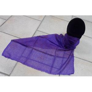Foulard Bénarès violet