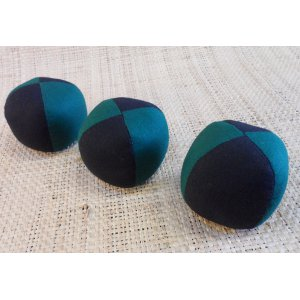 Lot de 3 balles de jonglage 2 couleurs