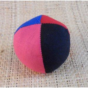 Balle de jonglage 4 couleurs