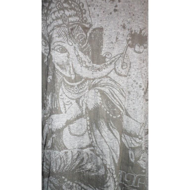 Mini robe Ganesh dansant anthracite