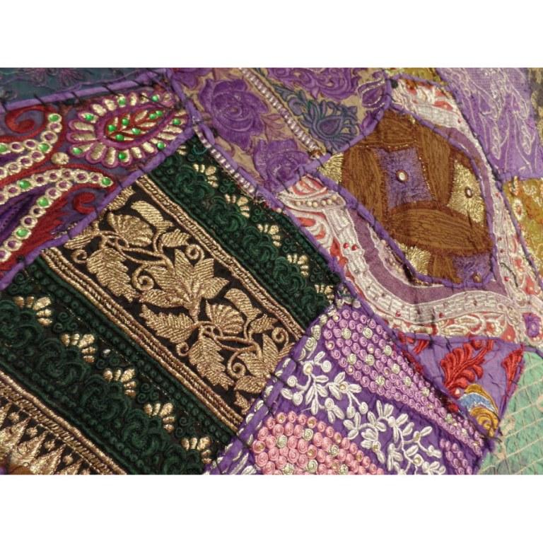 Tenture indienne Pendjab violet