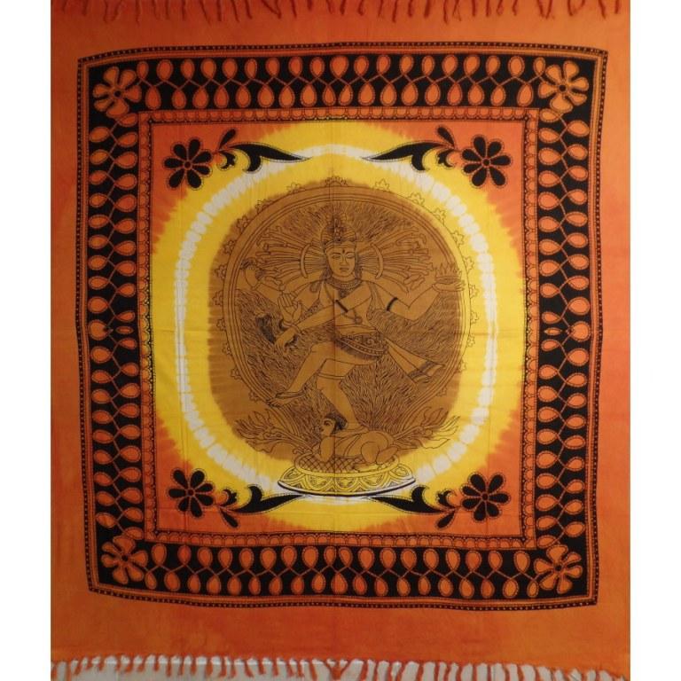 Maxi tenture bandhani Shiva nataraja
