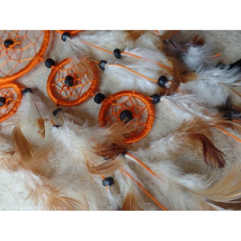Gardien des rêves hupuka orange