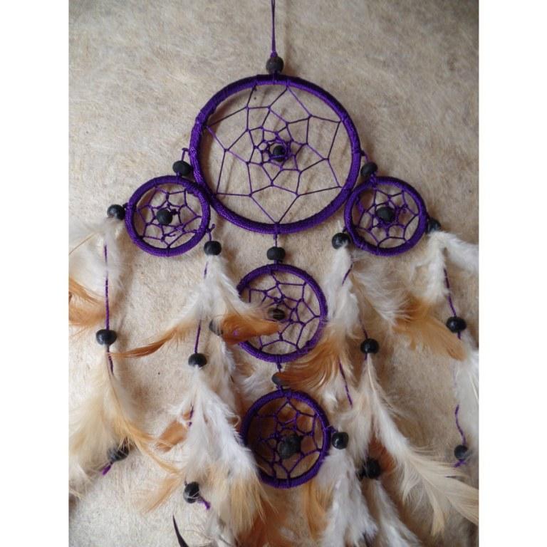 Gardien des rêves hupuka violet