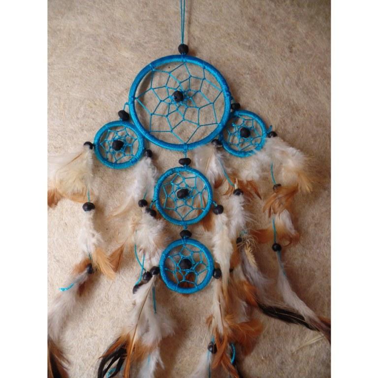 Gardien des rêves hupuka bleu