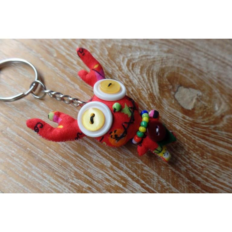 Porte clés renne 2