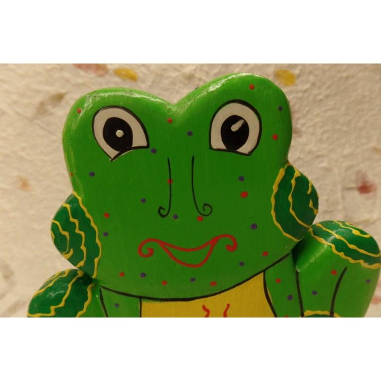 Tirelire la grenouille