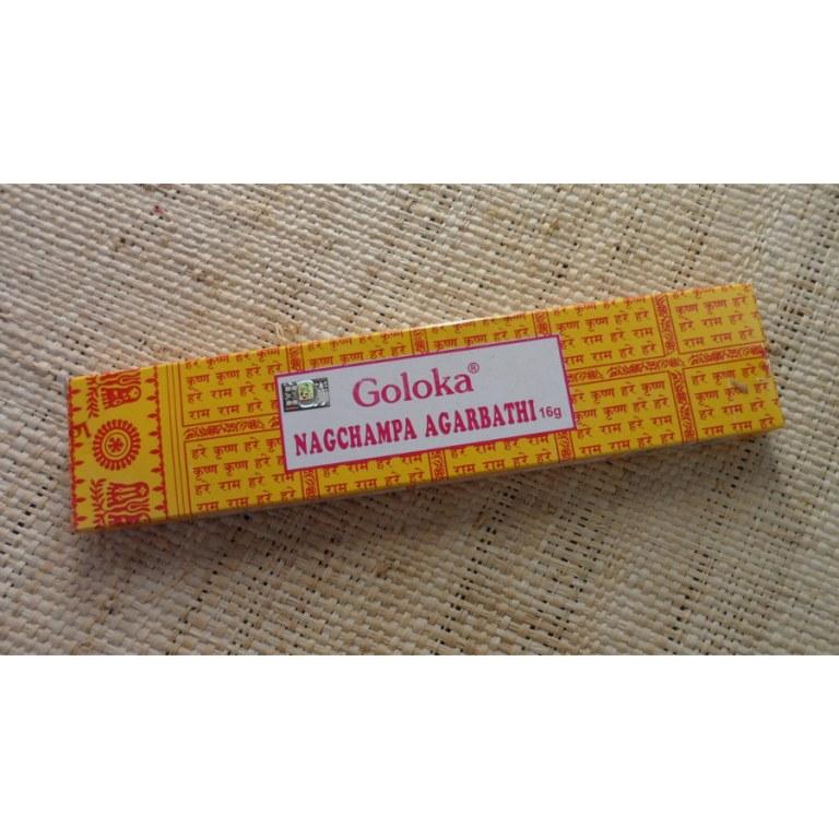 Encens Goloka nagchampa agarabathi 15 G