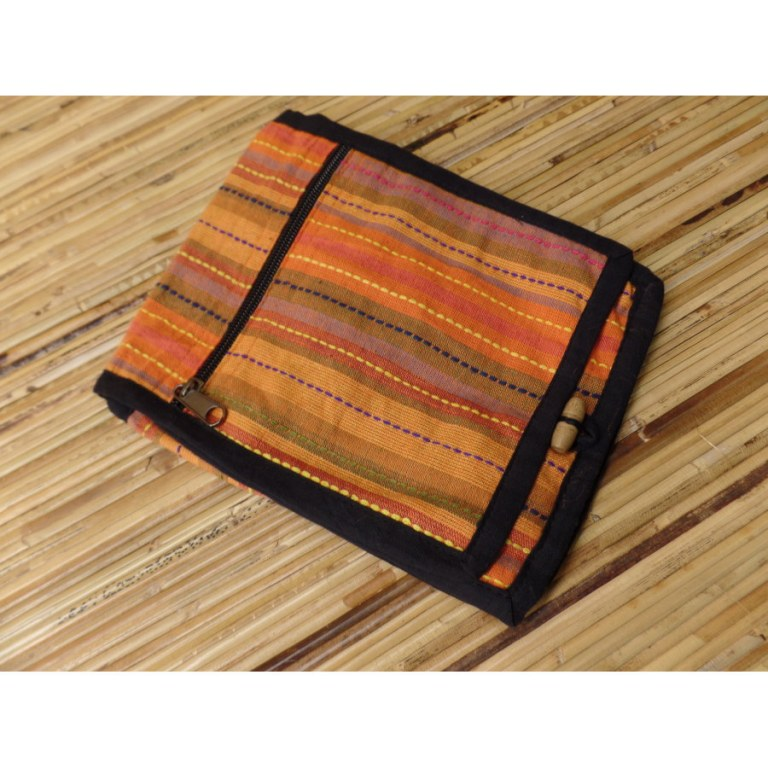 Sacoche pour passeport Koshi orange
