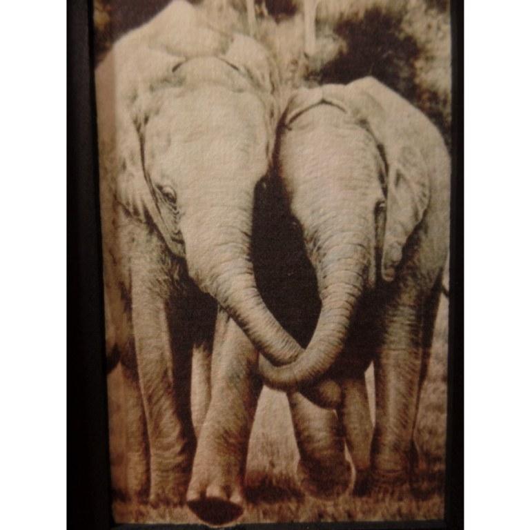 Lampe les 2 éléphants