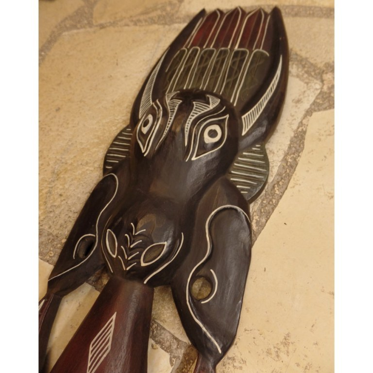 Masque l'homme et l'antilope