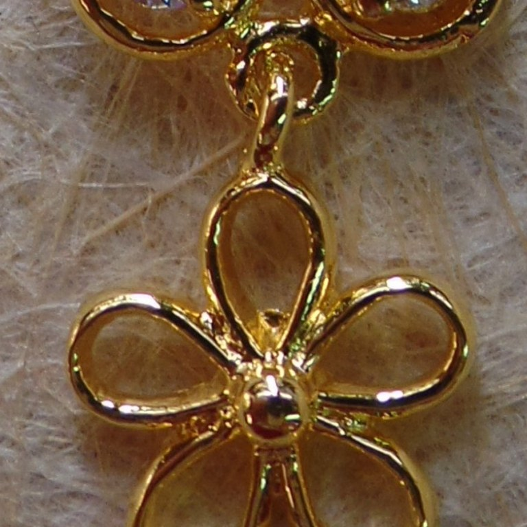 Piercing duo de fleurs