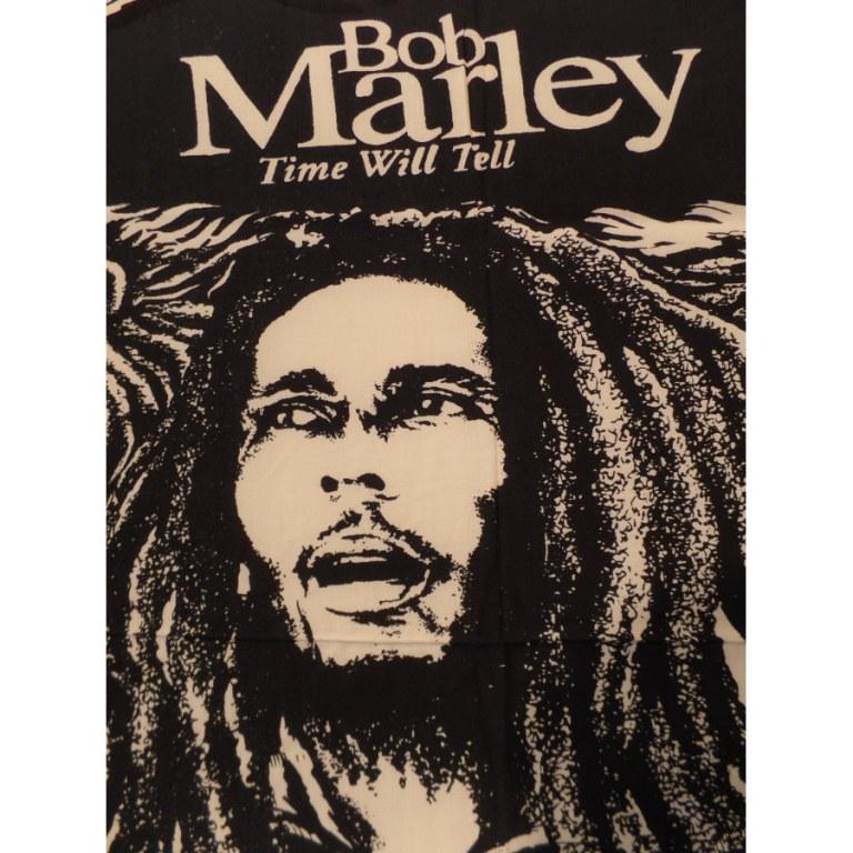 Mini tenture noir et blanc Bob Marley lions