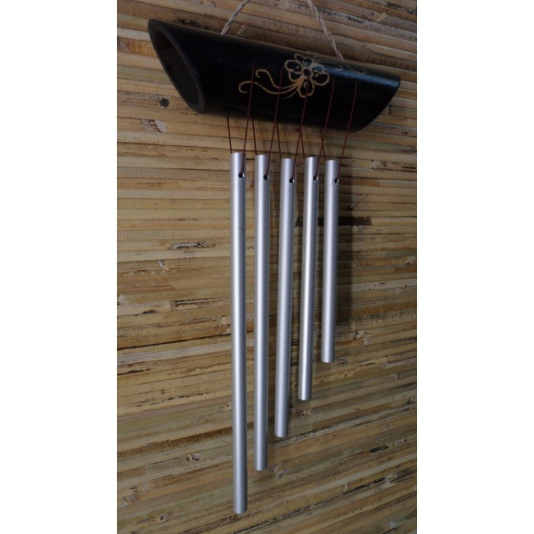 Carillon bambou orné