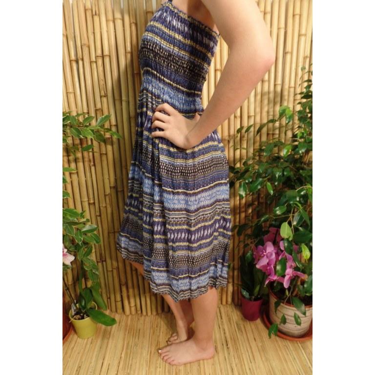 Jupe/robe bleue