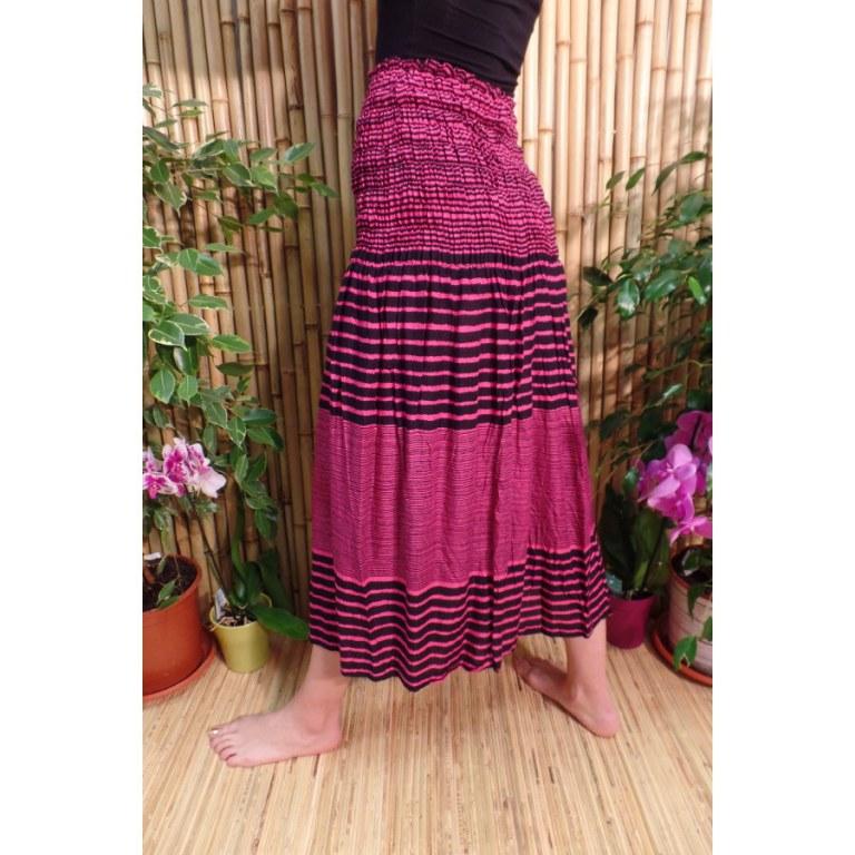 Jupe/robe rose/noir