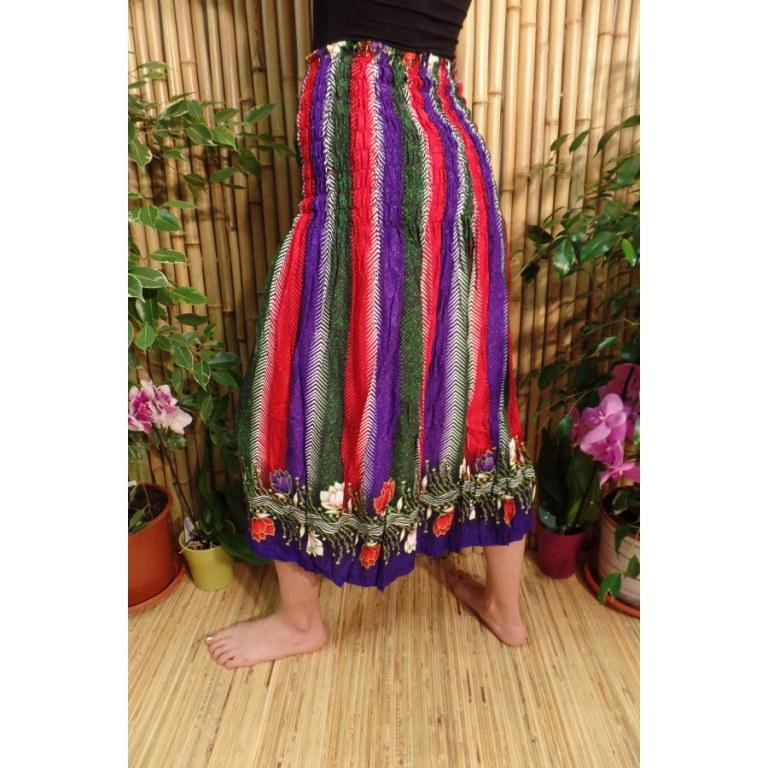 Jupe/robe colorées