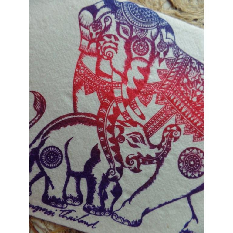 Carte l'éléphante