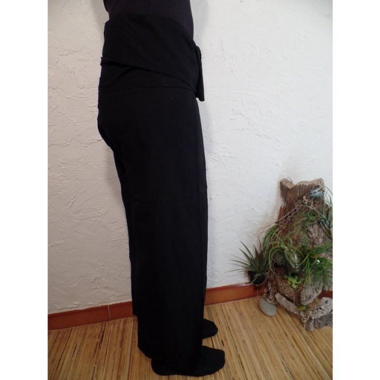 Pantalon de pêcheur Thaï noir