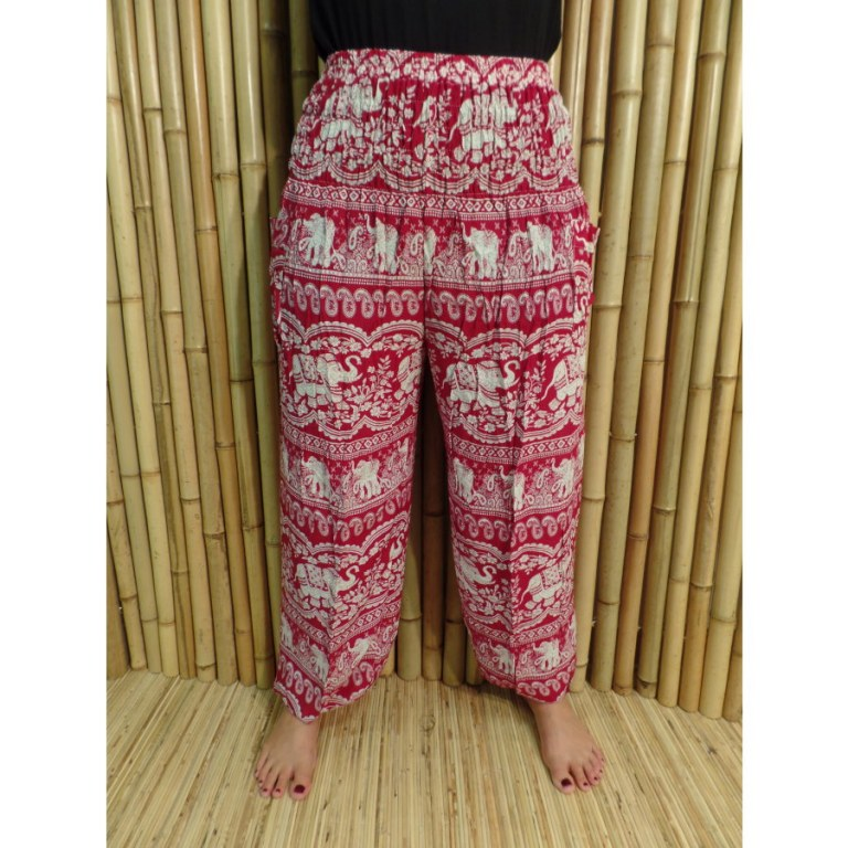 Pantalon Phetburi rouge