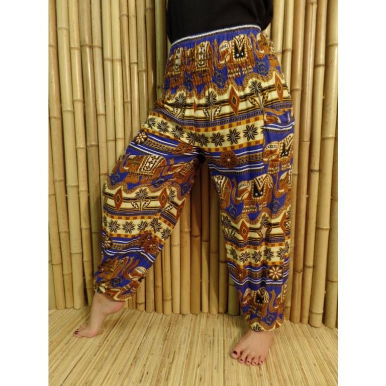 Pantalon fantasia éléphants