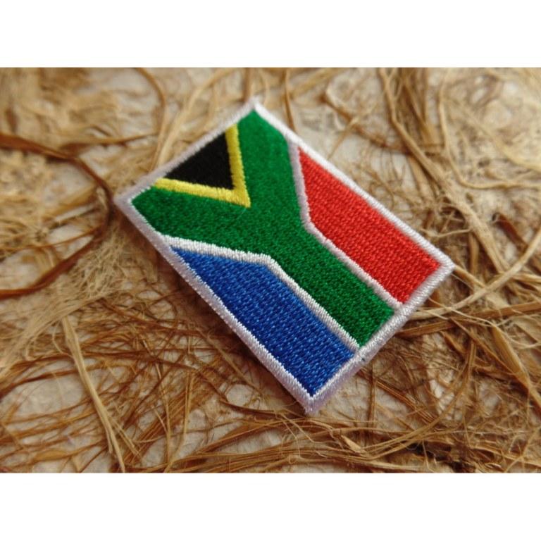 Ecusson drapeau Afrique du sud