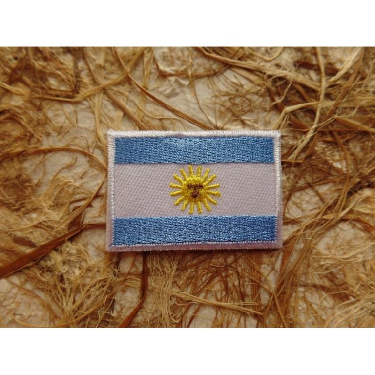 Ecusson drapeau Argentine