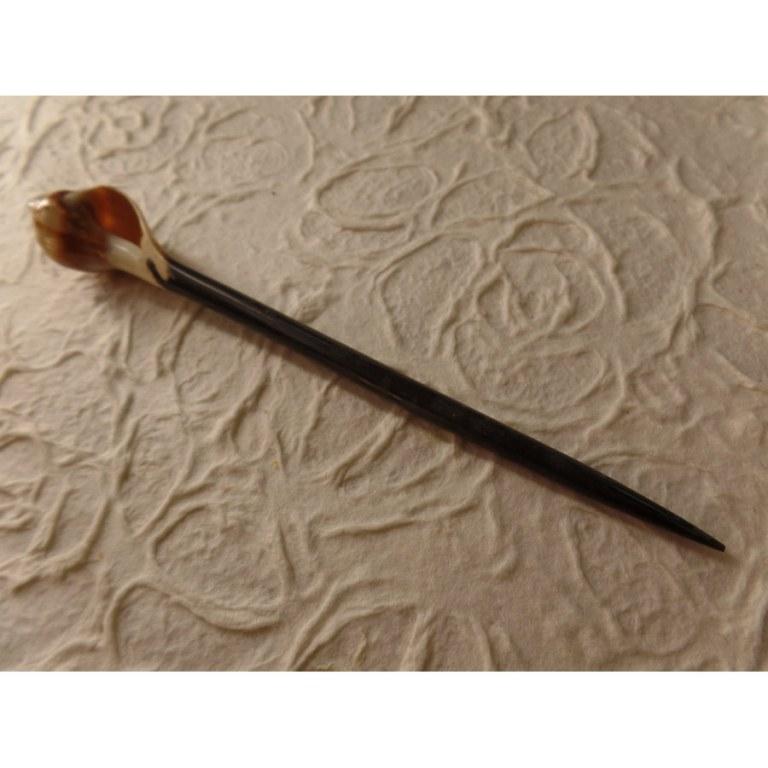 Baguette pic cheveux coquillage bulot