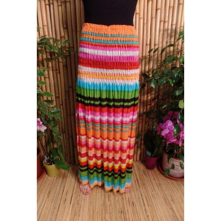 Jupe/robe multicolore