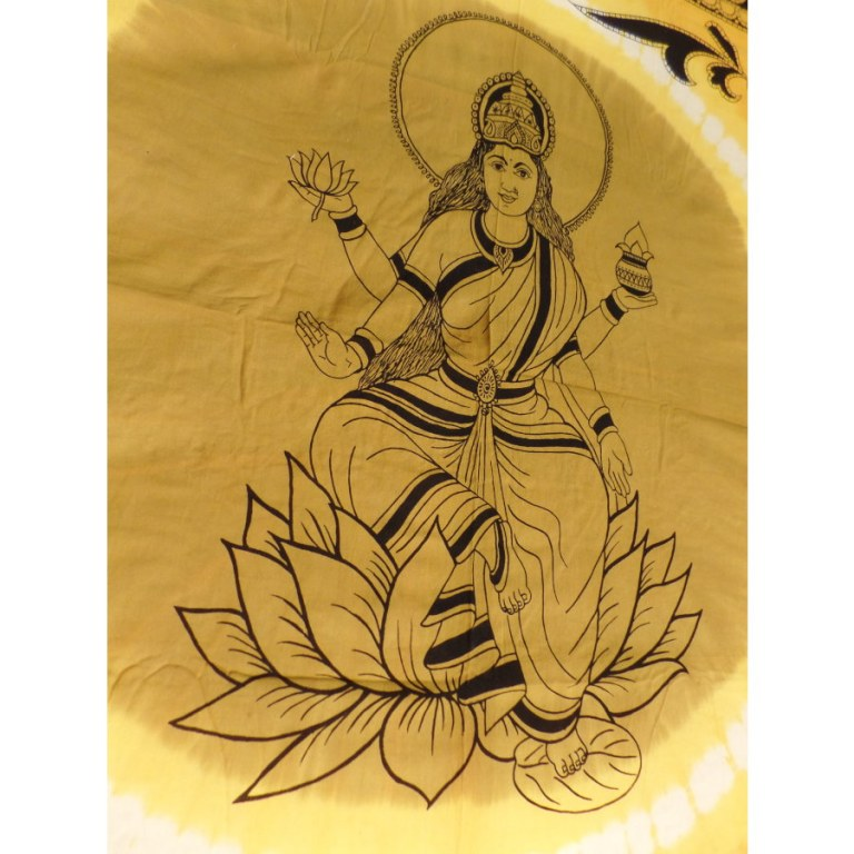 Maxi tenture bandhani Lakshmi