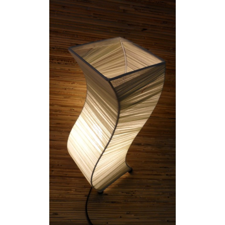 Lampe wave blanche